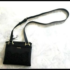 CK Madison Signature Mini Crossbody Bag